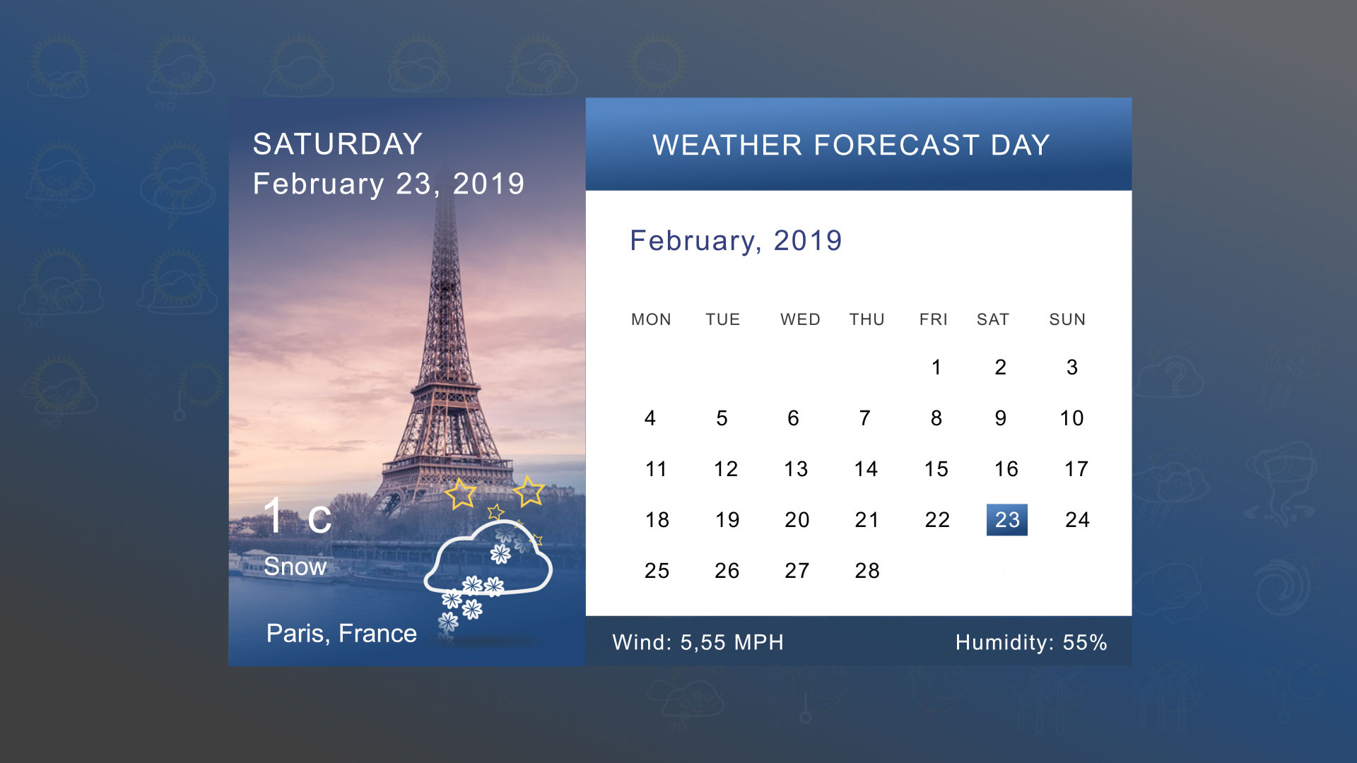 Weather Forecast Template 04