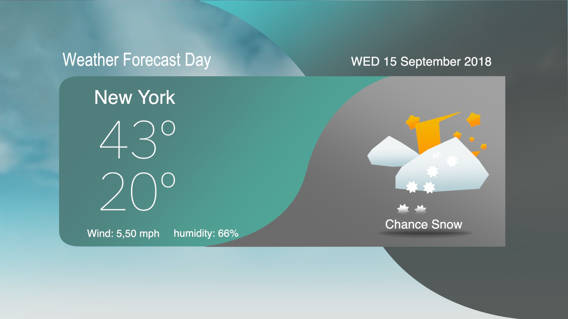 Weather forecast template fcpx 05