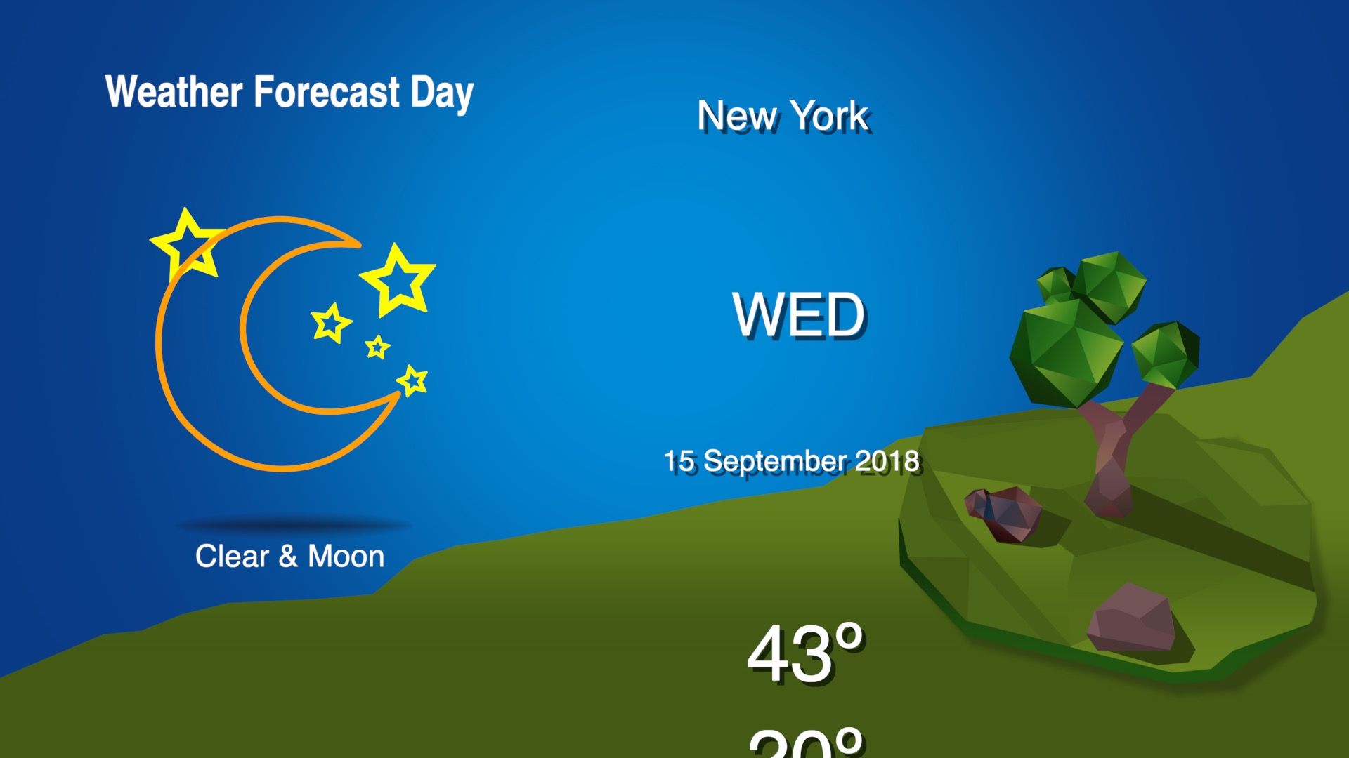 Weather forecast template fcpx 02