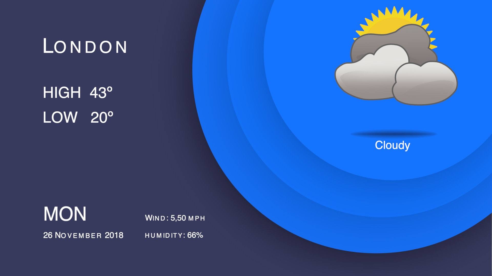 Weather forecast template fcpx 04