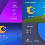 Weather forecast templates fcpx